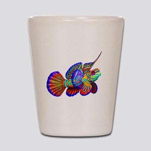 Mandarin Dragonet Fish Shot Glass
