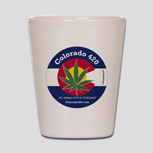 Colorado 420 Shot Glass