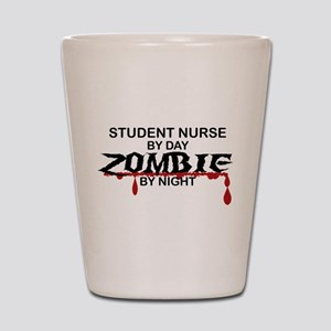 Student Nurse Zombie Shot Glass