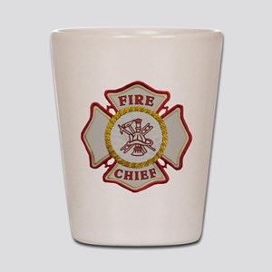 Fire Chief Maltese Shot Glass