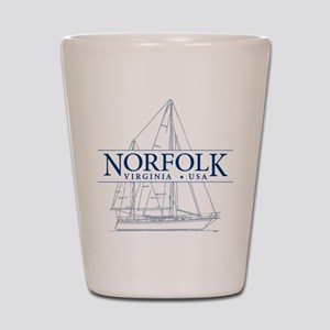 Norfolk VA - Shot Glass