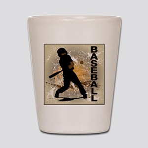 2011 Baseball 10 Shot Glass