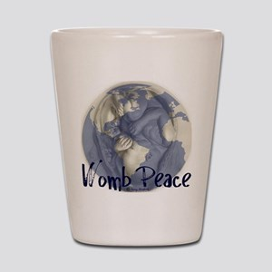 wombpeace2 Shot Glass