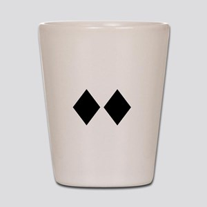 Awesome_Ski_Vt_wht Shot Glass