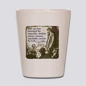 sherlockquote_truthsmalls Shot Glass
