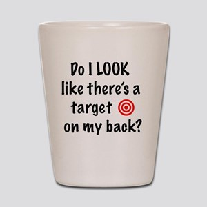 targetFront Shot Glass