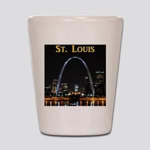St Louis Gateway Arch Shot Glass