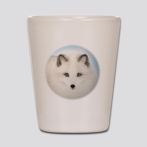 Cute Arctic Fox Shot Glass