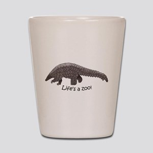 Pangolin Shot Glass