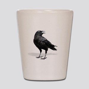 Black Crow Shot Glass
