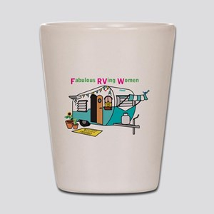 Fabulous Rving Women Logo Shot Glass