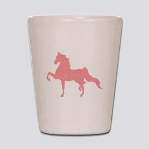 American Saddlebred - Pink pattern Shot Glass