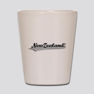 New Zealand Fern Swish Shot Glass