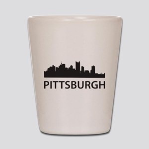 Pittsburgh Skyline Shot Glass