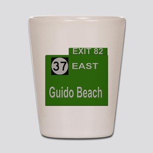 Parkway Exit 82 Shot Glass