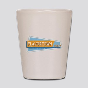 Fans of Flavortown Shot Glass