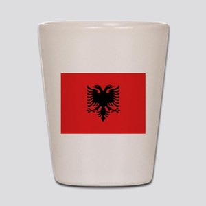 Albania Shot Glass