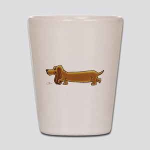 NEW! Weiner Dog Shot Glass
