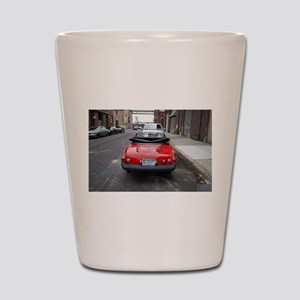 MG Rear Shot Glass