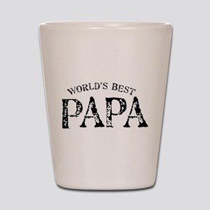 World's Best Papa Shot Glass