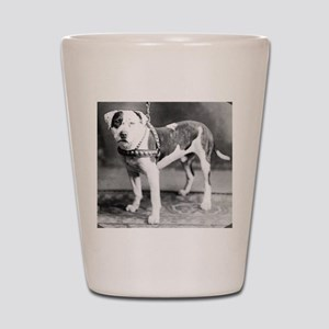 Websters Joker, a famous Colby bred dog Shot Glass
