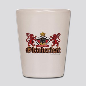 Oktoberfest Lions Shot Glass