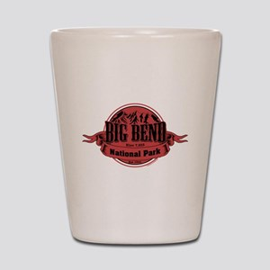 big bend 1 Shot Glass