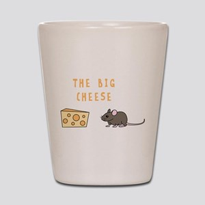 The Big Cheese Shot Glass