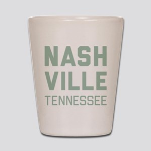 Nashville Tennessee Shot Glass