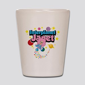 Interplanet Janet Shot Glass