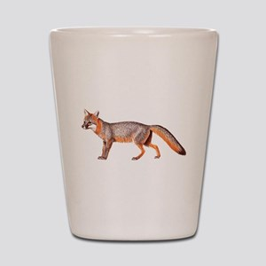 Gray Fox Animal Lover Shot Glass