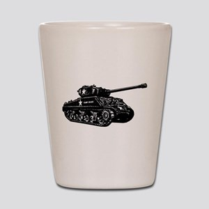 M4A3E2 Sherman Jumbo Shot Glass
