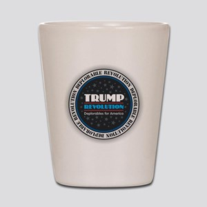 Trump Revolution Deplorables Shot Glass