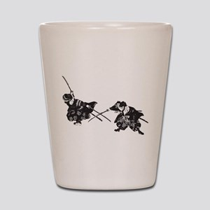 Samurai Shot Glass