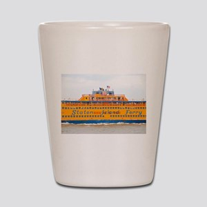 NYC: Staten Island Ferry Shot Glass