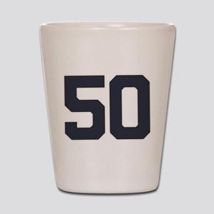 50 50th Birthday 50 Years Old Shot Glass