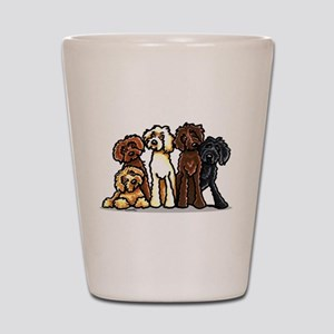 Labradoodle Lover Shot Glass