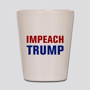 Impeach Trump Shot Glass