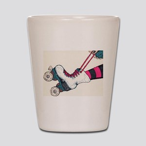 Roller Girl Shot Glass