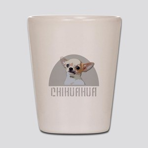 Chihuahua dog Shot Glass