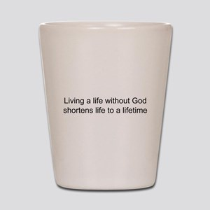 Religion belief Shot Glass