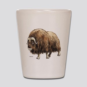 Musk Ox Shot Glass