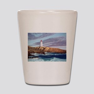 Peggy's Cove Lighthouse Shot Glass