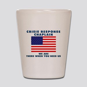 Crisis Response For All Shot Glass