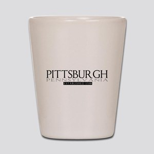 Pittsburgh PA Shot Glass