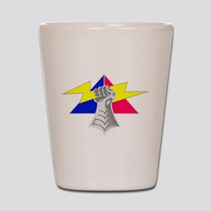 4th Armored Division Shot Glass