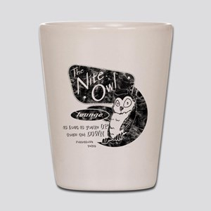 Nite Owl Lounge Shot Glass