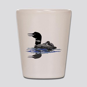 Calling Loon Shot Glass