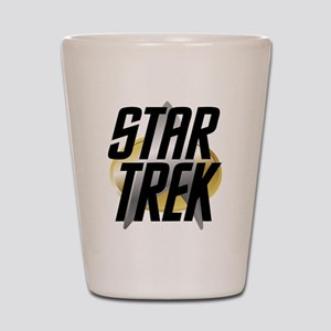Star Trek Logo Shot Glass
