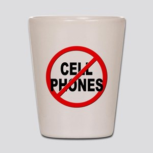 Anti / No Cell Phones Shot Glass